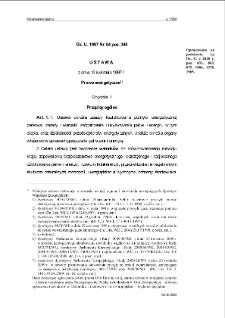 Ustawa z dnia 10 kwietnia 1997 r. - Prawo energetyczne.
