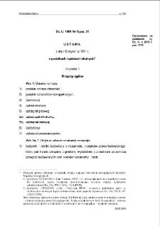 Ustawa z dnia 12 stycznia 1991 r. o podatkach i opłatach lokalnych.